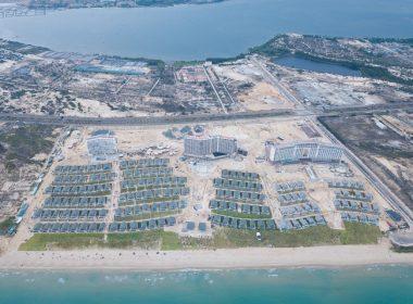 Toàn cảnh dự án Movenpick Cam Ranh nhìn từ trên cao