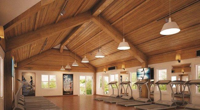 Phòng tập Gym – khu thể thao trong nhà